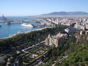 Malaga City and Marina